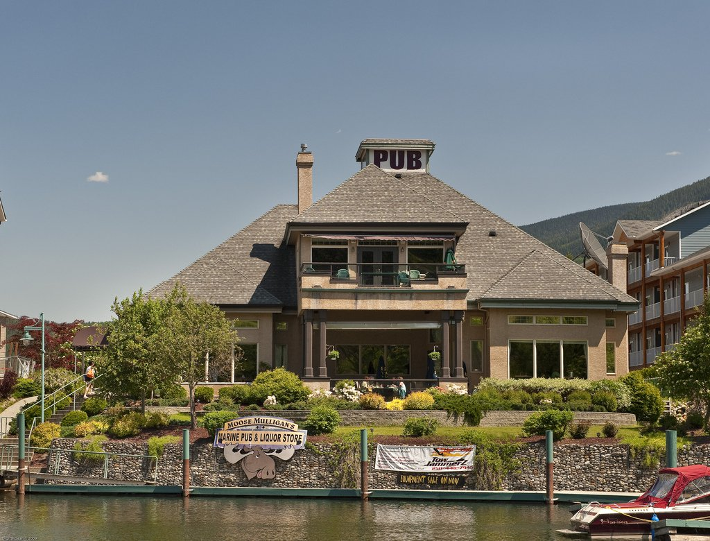 Main Photo: ~ PUB / LIQUOR STORE ~ in : Shuswap Lake Commercial for sale : MLS®# 10102617