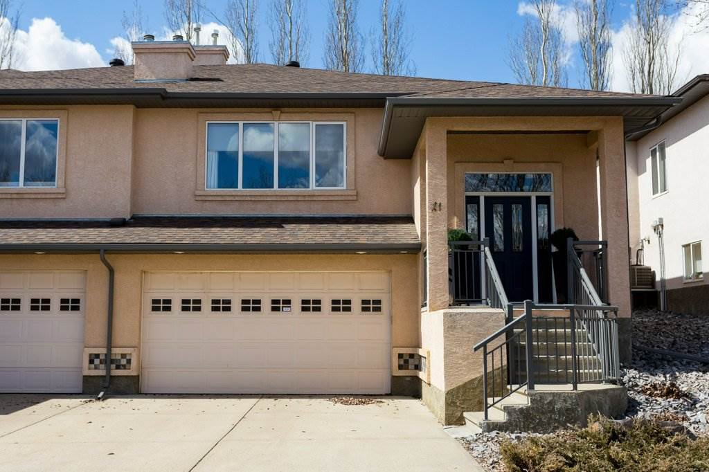 Main Photo: 21 50 Oakridge Drive: St. Albert House Half Duplex for sale : MLS®# E4216056