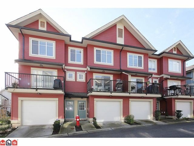 "Main Photo: 25 6635 192ND Street in Surrey: Clayton Townhouse for sale in ""Leafside Lane"" (Cloverdale)  : MLS®# F1204688"