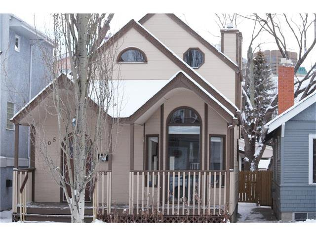 Photo 1: Photos: 1005 1 AV NW in Calgary: Sunnyside House for sale : MLS®# C4042882