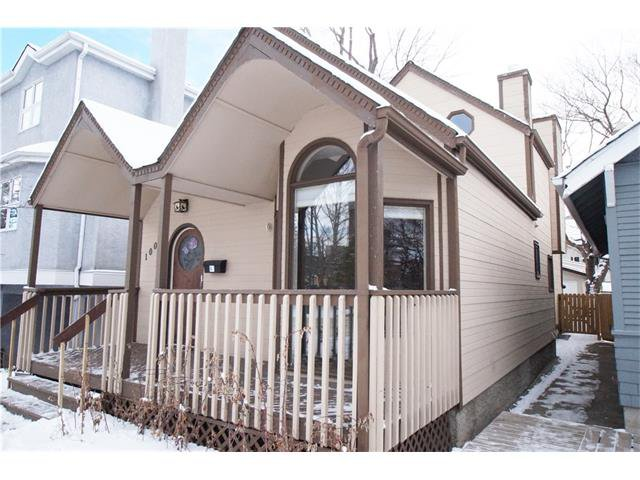 Photo 2: Photos: 1005 1 AV NW in Calgary: Sunnyside House for sale : MLS®# C4042882