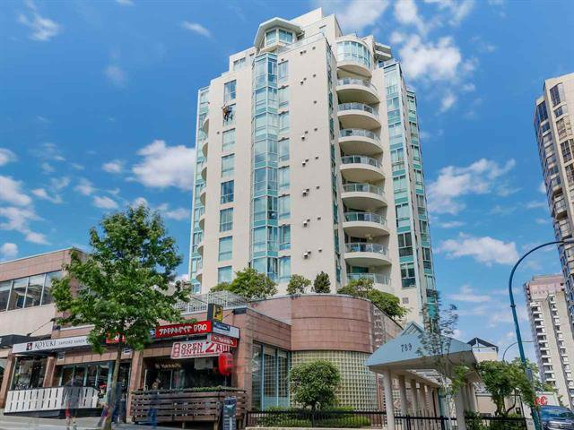 Main Photo: 901 789 JERVIS STREET in : Vancouver West Condo for sale : MLS®# R2085949