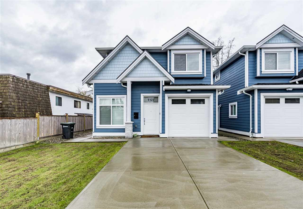 Main Photo: 1127 YORSTON COURT in Burnaby: Simon Fraser Univer. House 1/2 Duplex for sale (Burnaby North)  : MLS®# R2160460