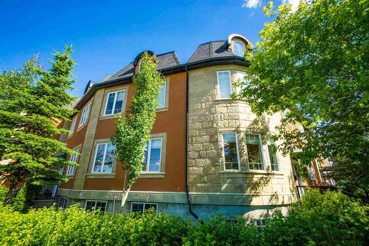 Main Photo: 14319 Stony Plain Road in Edmonton: Zone 21 Townhouse for sale : MLS®# E4181491