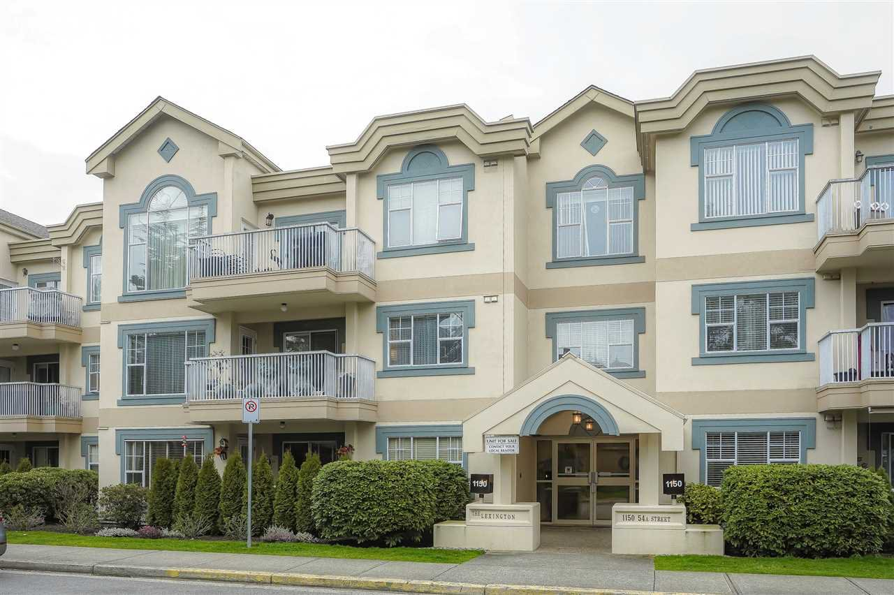 "Main Photo: 308 1150 54A Street in Delta: Tsawwassen Central Condo for sale in ""LEXINGTON"" (Tsawwassen)  : MLS®# R2442881"