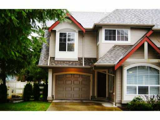 """Main Photo: 68 23085 118TH Avenue in Maple Ridge: East Central Townhouse for sale in """"SOMMERVILLE GARDENS"""" : MLS®# V934330"""