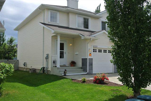 Main Photo: 16325 55A ST NW in Edmonton: Zone 03 House Half Duplex for sale : MLS®# E4068994
