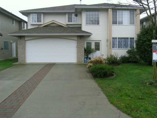 "Main Photo: 19852 FAIRFIELD AV in Pitt Meadows: South Meadows House for sale in ""STATION CROSSING"" : MLS®# V576622"