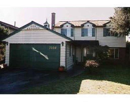 Main Photo: 7220 Schaefer Ave: House for sale (Broadmoor)  : MLS®# V524468