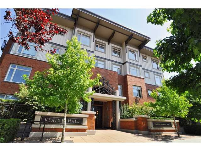 "Main Photo: 122 2280 WESBROOK Mall in Vancouver: University VW Condo for sale in ""KEATS HALL"" (Vancouver West)  : MLS®# V972168"