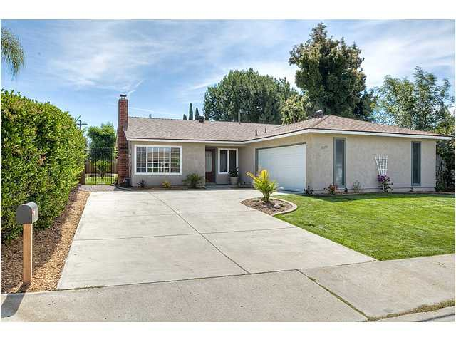 Main Photo: POWAY House for sale : 4 bedrooms : 13355 Montego Drive