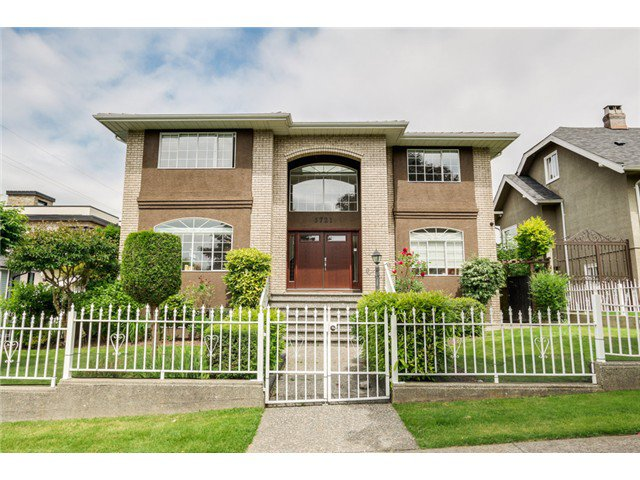 Main Photo: 3721 PANDORA ST in Burnaby: Vancouver Heights House for sale (Burnaby North)  : MLS®# V1084270