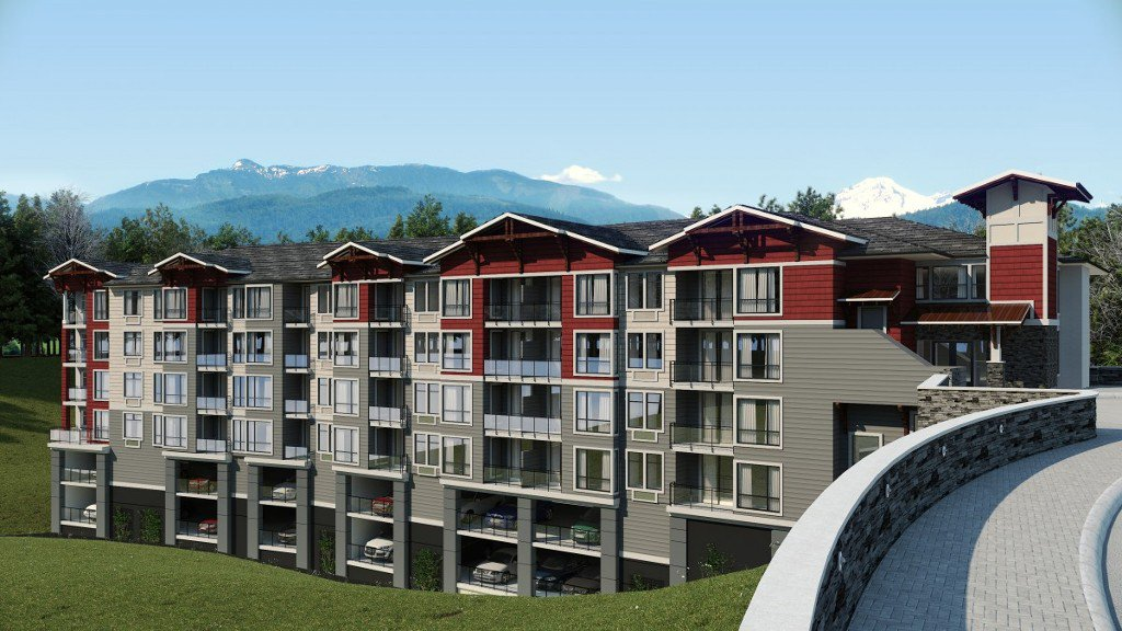 Main Photo: 403-2238 Whatcom Road in Abbotsford: Abbotsford East Condo for rent