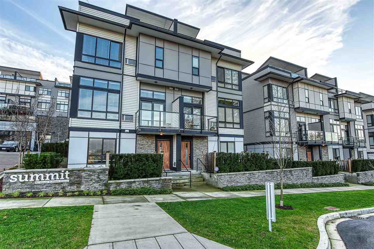 "Photo 1: Photos: 73 14058 61 Avenue in Surrey: Sullivan Station Townhouse for sale in ""Summit"" : MLS®# R2423344"