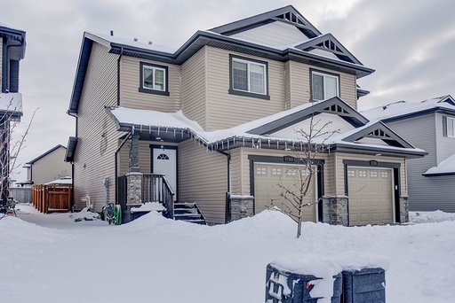Main Photo: 17353 120 Street in Edmonton: Zone 27 House Half Duplex for sale : MLS®# E4187552