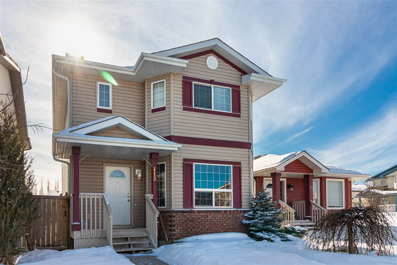 Main Photo: 113 BROOKVIEW Way: Stony Plain House for sale : MLS®# E4191361