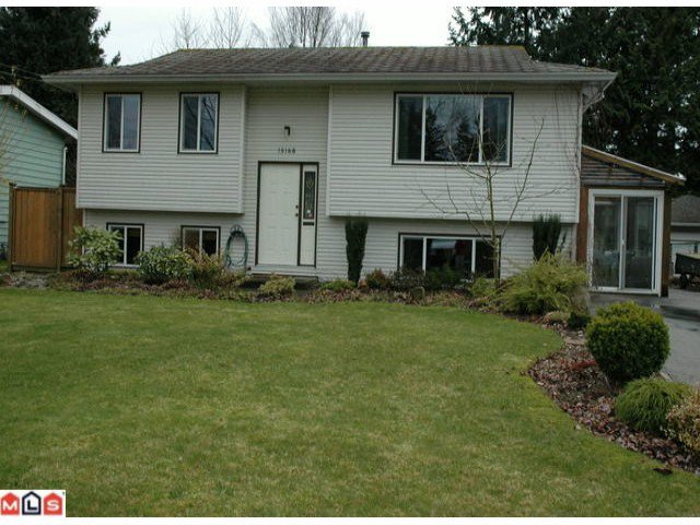 Main Photo: 15168 91A Avenue in Surrey: Fleetwood Tynehead House for sale : MLS®# F1207978