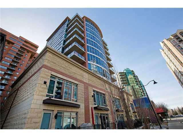 Main Photo: 402 735 2 Avenue SW in CALGARY: Eau Claire Condo for sale (Calgary)  : MLS®# C3567018