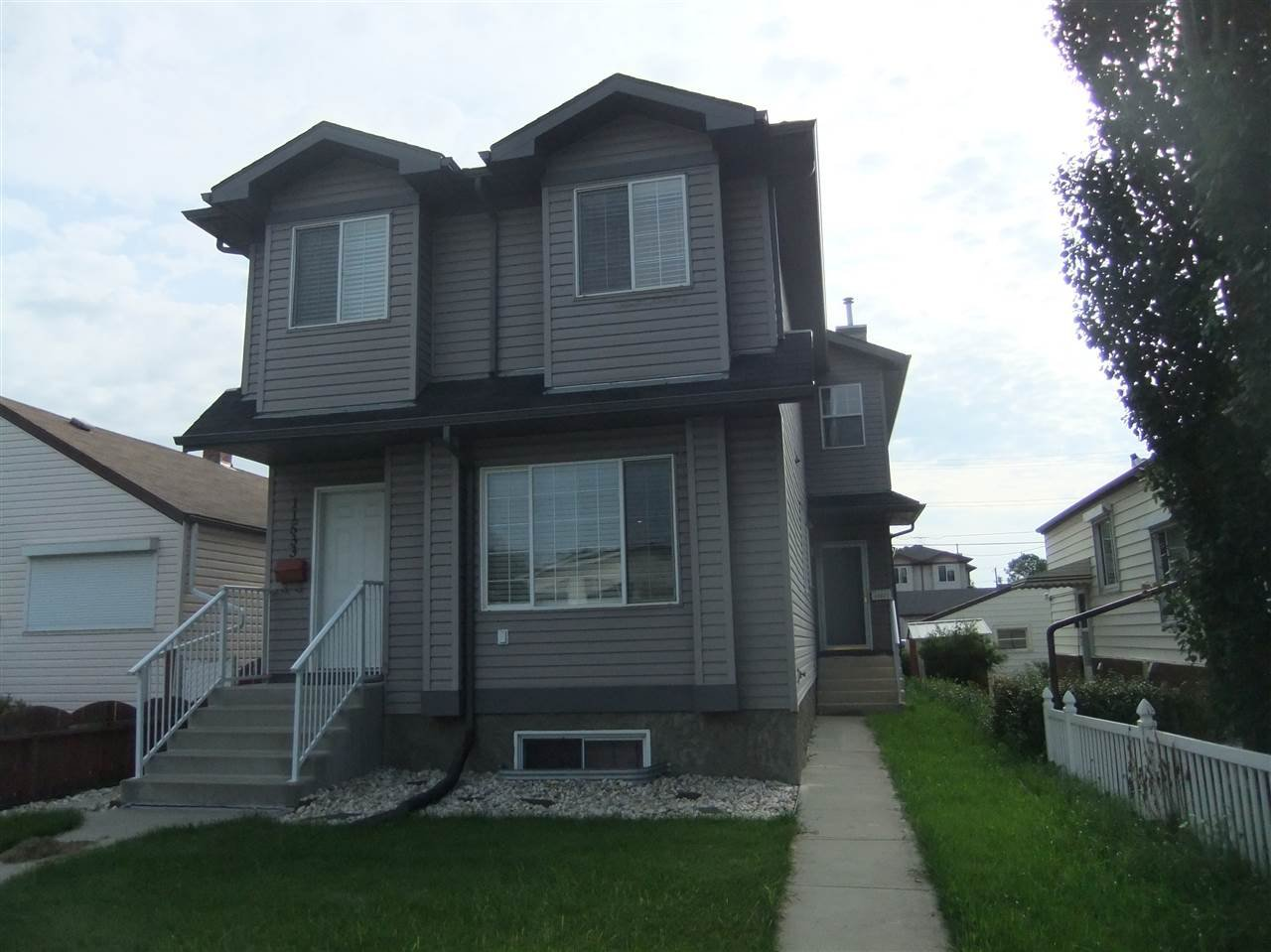Main Photo: 11531 82 Street in Edmonton: Zone 05 Duplex Front and Back for sale : MLS®# E4168518