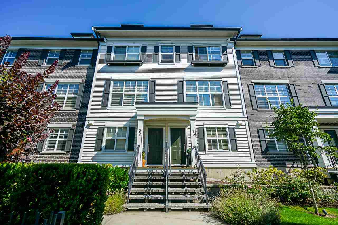 """Main Photo: 53 2469 164 Street in Surrey: Grandview Surrey Townhouse for sale in """"ABBEYROAD"""" (South Surrey White Rock)  : MLS®# R2402338"""