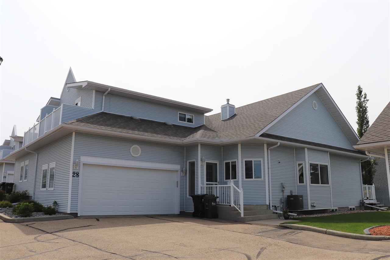 Main Photo: 28  65 Cranford Drive: Sherwood Park House Half Duplex for sale : MLS®# E4201184