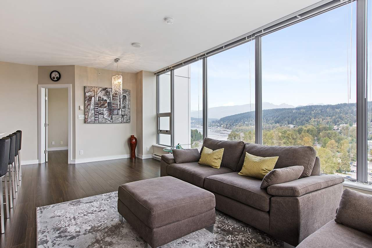 """Main Photo: 1805 301 CAPILANO Road in Port Moody: Port Moody Centre Condo for sale in """"SUTER BROOK - THE RESIDENCES"""" : MLS®# R2506104"""