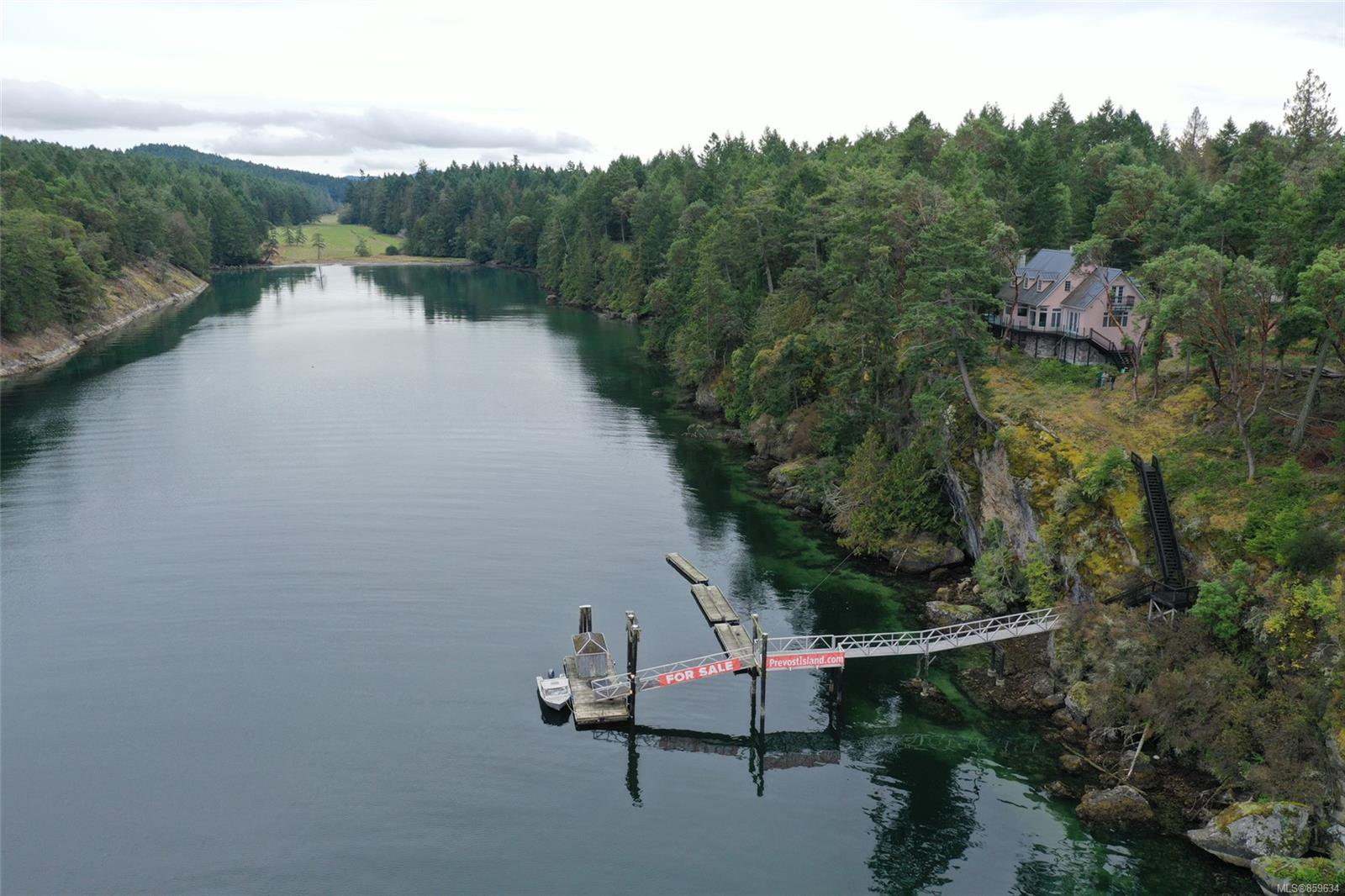 Main Photo: Lot A Selby Cove in : GI Prevost Island House for sale (Gulf Islands)  : MLS®# 859634