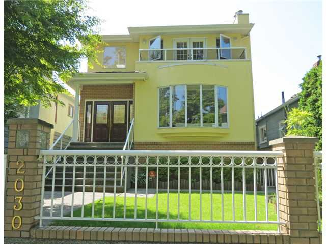 Main Photo: 2030 E 2ND Avenue in Vancouver: Grandview VE House for sale (Vancouver East)  : MLS®# V961597