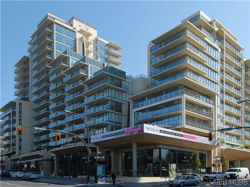 Main Photo: 708 707 Courtney Street in VICTORIA: Vi Downtown Condo Apartment for sale (Victoria)  : MLS®# 319099