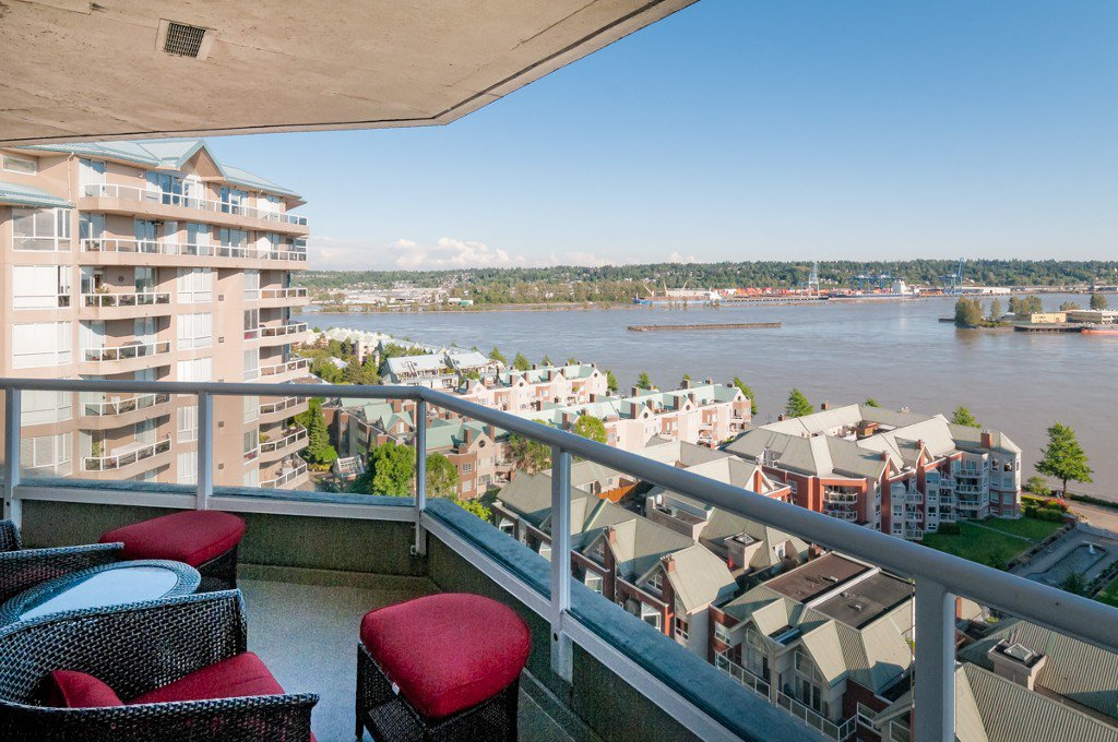 "Main Photo: # 1806 1245 QUAYSIDE DR in New Westminster: Quay Condo for sale in ""THE RIVIERA"" : MLS®# V1008511"