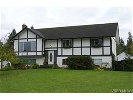 Main Photo: 1235 Marin Park Close in BRENTWOOD BAY: CS Brentwood Bay House for sale (Central Saanich)  : MLS®# 348232