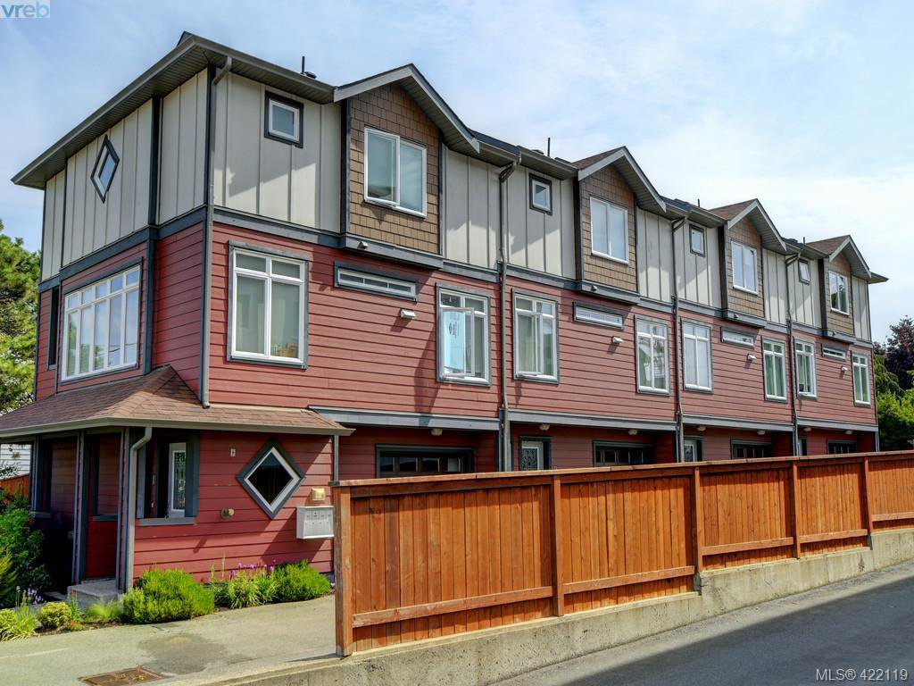 Main Photo: 1-4 617 Admirals Road in VICTORIA: Es Rockheights Revenue 4-Plex for sale (Esquimalt)  : MLS®# 422119