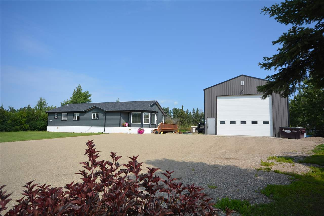 Main Photo: 6378 MARIGOLD Avenue in Fort St. John: Fort St. John - Rural E 100th Manufactured Home for sale (Fort St. John (Zone 60))  : MLS®# R2475026