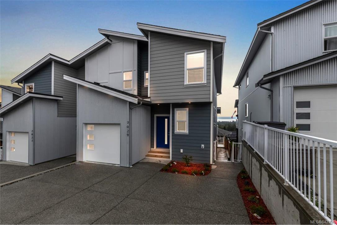 Main Photo: 7029 Brailsford Pl in Sooke: Sk Sooke Vill Core Half Duplex for sale : MLS®# 842796