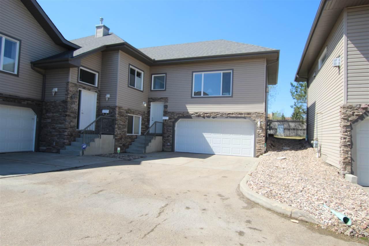Main Photo: 16 17715 96 Avenue in Edmonton: Zone 20 House Half Duplex for sale : MLS®# E4210827
