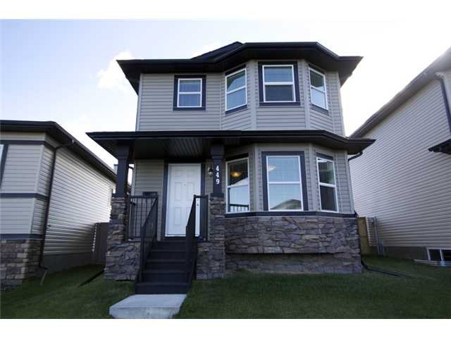 Main Photo: 449 LUXSTONE Place SW: Airdrie Residential Detached Single Family for sale : MLS®# C3542456