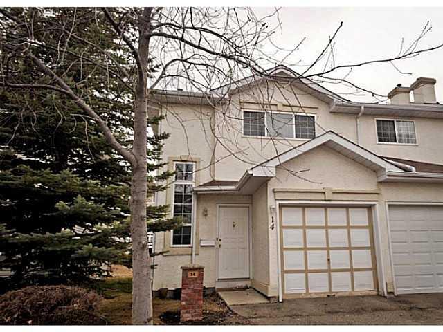 Main Photo: 14 SHAWINIGAN Lane SW in CALGARY: Shawnessy Townhouse for sale (Calgary)  : MLS®# C3564925