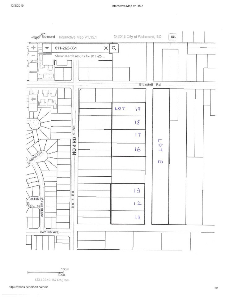 Main Photo: LOT 19 BLUNDELL ROAD in Richmond: McLennan Land for sale : MLS®# R2423495