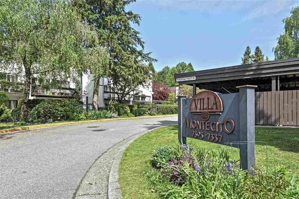 """Main Photo: 7 7321 MONTECITO Drive in Burnaby: Montecito Condo for sale in """"VILLA MONTECITO"""" (Burnaby North)  : MLS®# R2528086"""