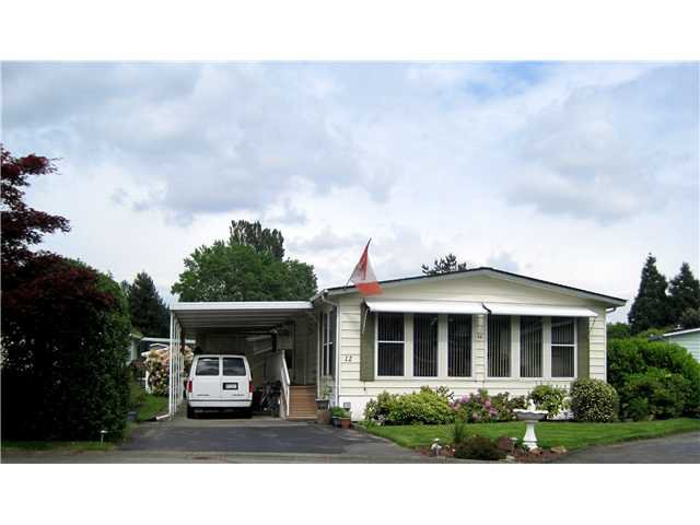 """Main Photo: 12 145 KING EDWARD Street in Coquitlam: Maillardville Manufactured Home for sale in """"MILL CREEK VILLAGE"""" : MLS®# V1009032"""