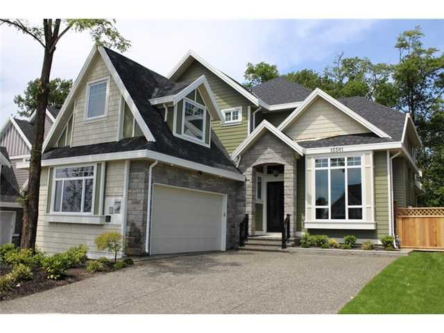 Main Photo: 15561 80A Avenue in SURREY: Fleetwood Tynehead House for sale (Surrey)  : MLS®# F1314505