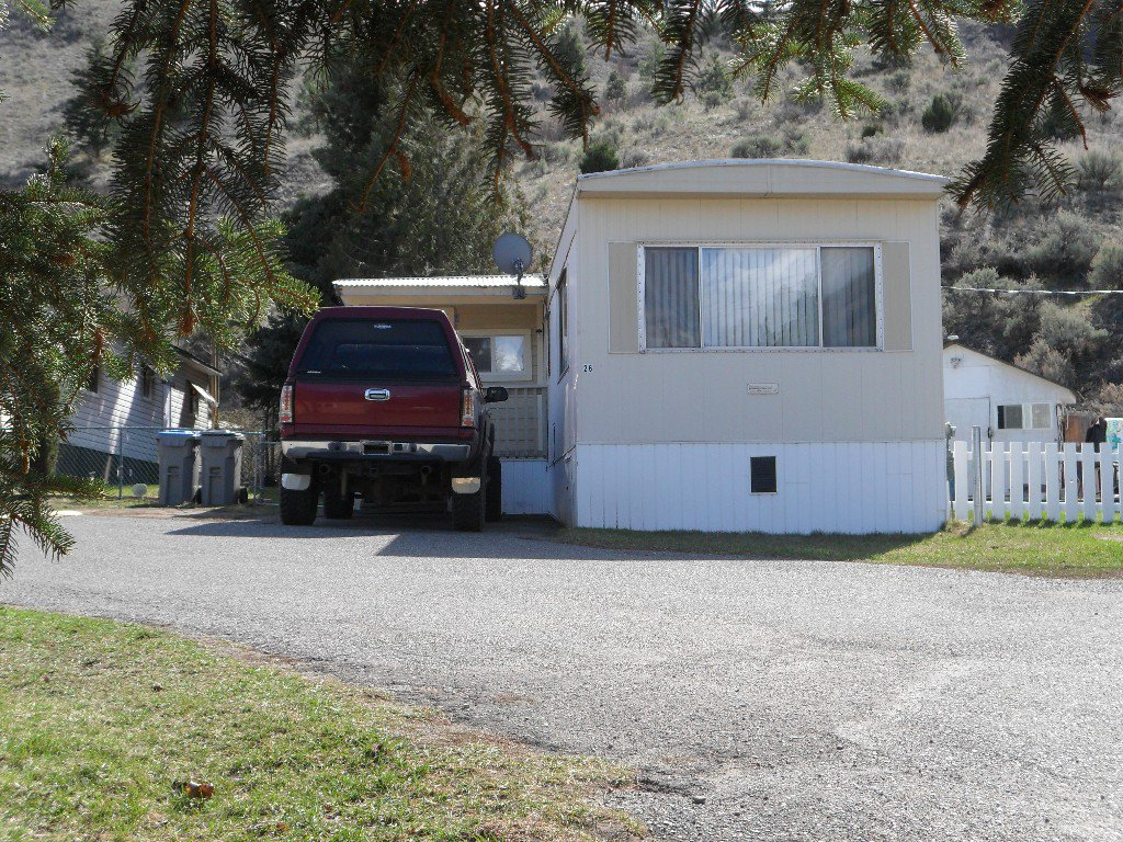 Main Photo: 26 1175 Rose Hill Rd in Kamloops: Valleyview Manufactured Home for sale : MLS®# 127597