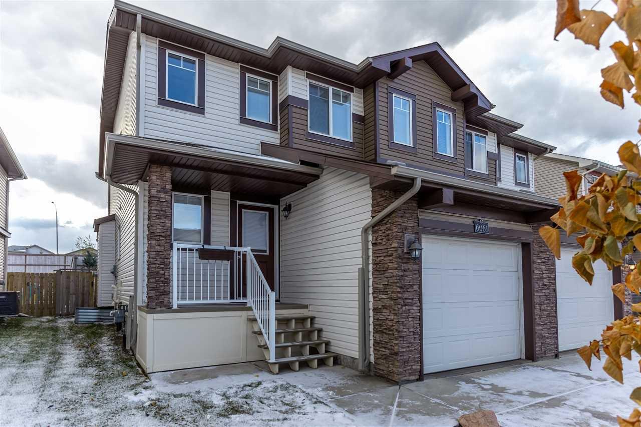 Main Photo: 6061 Sunbrook Landing: Sherwood Park House Half Duplex for sale : MLS®# E4218875