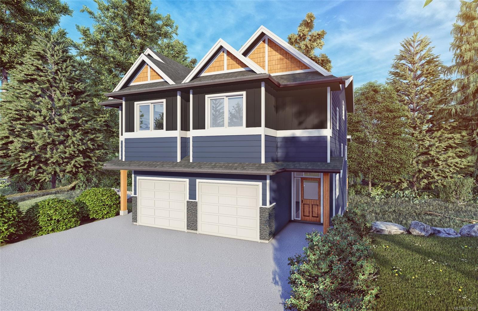 Main Photo: A 2361 Galena Rd in : Sk Broomhill Half Duplex for sale (Sooke)  : MLS®# 857500