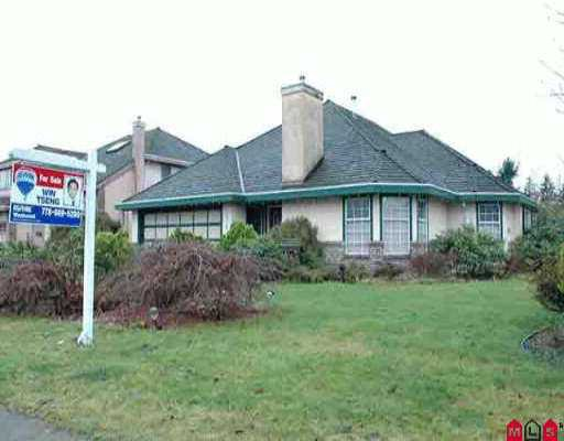 "Main Photo: 10639 158TH ST in Surrey: Fraser Heights House for sale in ""Fraser Woods"" (North Surrey)  : MLS®# F2600714"