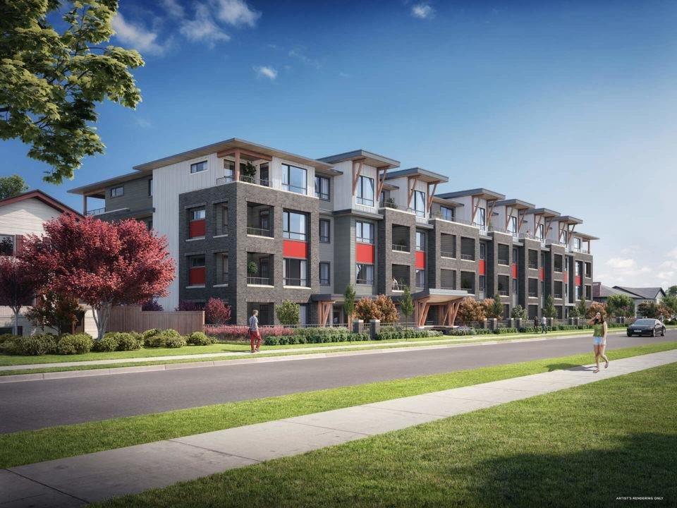 "Main Photo: 203 2160 GRANT Avenue in Port Coquitlam: Glenwood PQ Condo for sale in ""The Grant"" : MLS®# R2446487"
