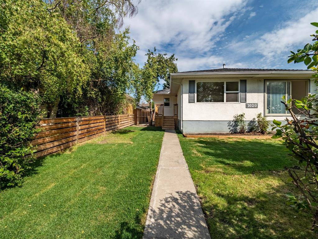 Main Photo: 1020W 39 Avenue NW in Calgary: Cambrian Heights Semi Detached for sale : MLS®# A1025366
