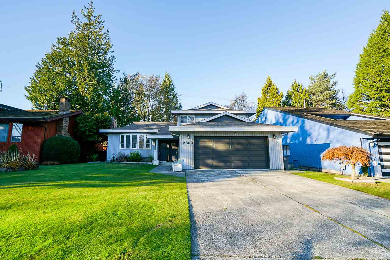 Main Photo: 12860 CARLUKE Crescent in Surrey: Queen Mary Park Surrey House for sale : MLS®# R2516199