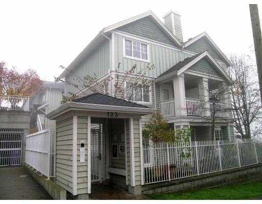 "Main Photo: 1 123 7TH ST in New Westminster: Uptown NW Townhouse for sale in ""ROYAL CITY TERRACE"" : MLS®# V566303"