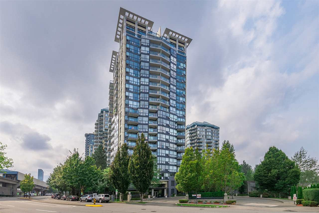 "Main Photo: 1107 10899 UNIVERSITY Drive in Surrey: Whalley Condo for sale in ""Observatory"" (North Surrey)  : MLS®# R2401934"